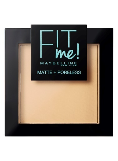 Maybelline Fit Me Matte+Poreless Pudra - 110 Porcelain Ten